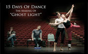 Frame from 15 Days of Dance: 'The Making of Ghost Light'