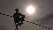 Frame from The Last Tightrope Dancer in Armenia